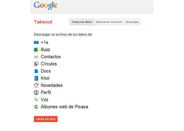 Google Takeout, exporta tus datos de Google con un clic 29