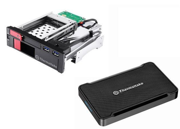 Thermaltake Max Duo y Max 5G, accesorios de almacenamiento
