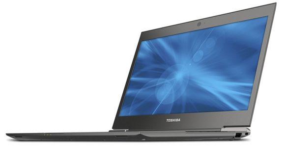 Toshiba tiene un tercio de cuota de mercado ultrabook