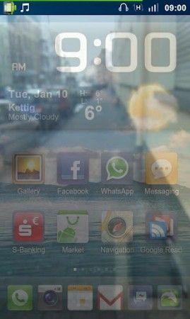Evita los peligros de la calle cuando escribes SMS en Android con Transparent Screen 29