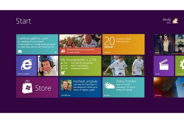 Microsoft presenta Windows 8 Consumer Preview