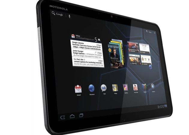 Motorola vendió Xooms readaptados sin borrar los datos existentes