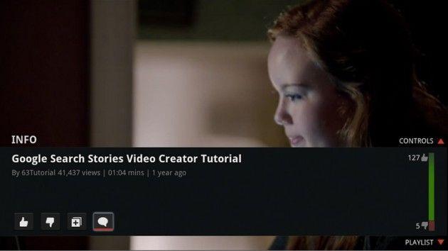 Mejoras en el cliente YouTube integrado en Google TV