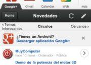 20120313 092809 180x129 Google+ renueva su interfaz móvil, más visual y accesible