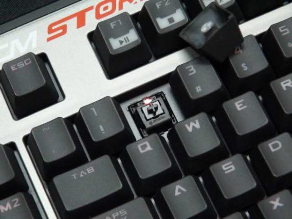 CM Storm Trigger, teclado mecánico digno de cualquier gamer que se precie