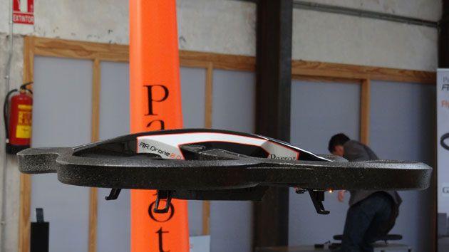 Parrot AR. Drone 2.0, primer contacto 30