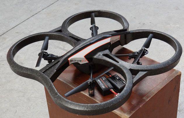 Parrot AR. Drone 2.0, primer contacto 32