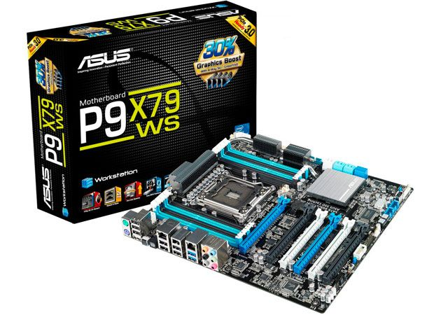 ASUS P9X79WS, placa base para workstations