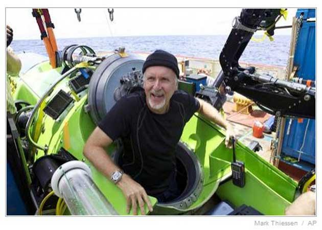 Espectacular vídeo de Cameron en la fosa mariana a 11 kilómetros de profundidad 27