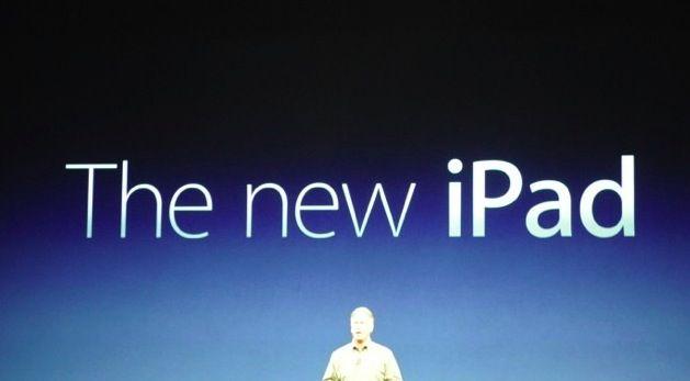 "Ni iPad 3 ni iPad HD, el nuevo tablet de Apple es ""The new iPad"" 30"