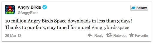 Angry Birds Space, 10 millones de descargas en 3 días 29