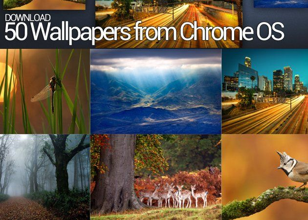 Chrome OS Walls Descarga los 50 wallpapers de Chrome OS
