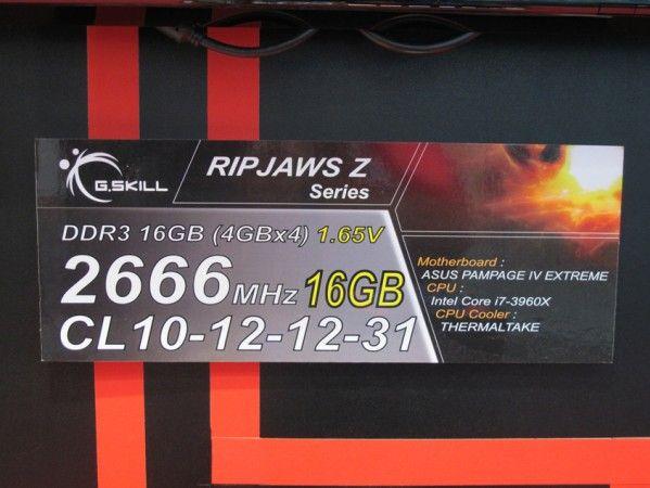 G.SKILL presenta la memoria de cuádruple canal más rápida: DDR3 2666 MHz 31