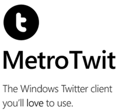 MetroTwit 1.0, maridaje perfecto entre Twitter y la interfaz Metro 32