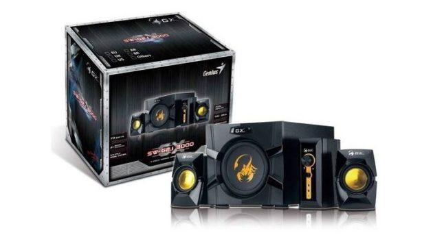 Altavoces Genius GX Gaming Series SW-G2.1 3000 30