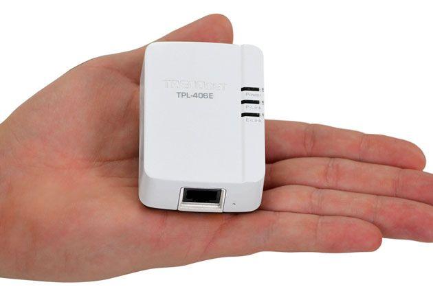 TRENDnet TPL-406E, el PLC 500 Mbps más pequeño del mercado 30