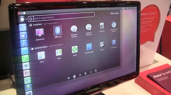 Ubuntu for Android en vivo durante MWC 2012