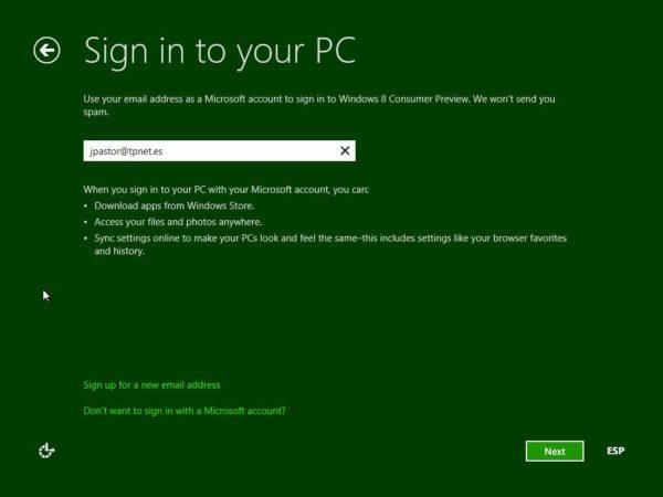 Cómo instalar Windows 8 Consumer Preview 39
