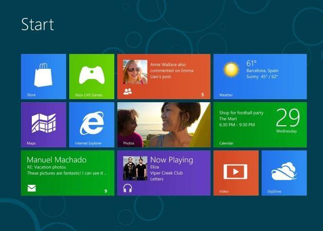 Windows 8 Consumer Preview alcanza el millón de descargas