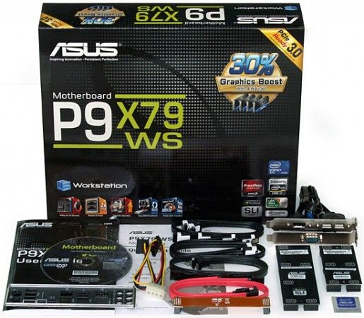 asus p9x79 ws kit 515x450 ASUS P9X79WS, placa base para workstations