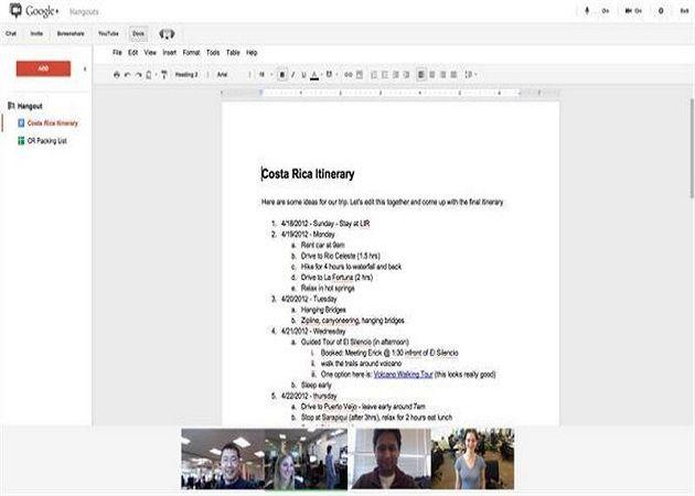 Google+ ya permite realizar quedadas colaborativas de Google Docs 27