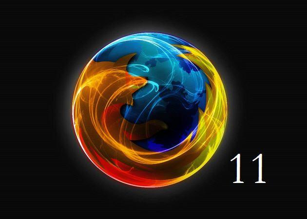 Firefox 11 disponible, con un arma estratégica contra Chrome 29