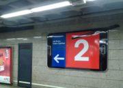 La céntrica estación de Metro de Madrid Sol pasa a ser Sol Galaxy Note por un mes 40