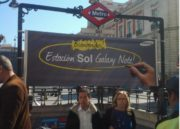 La céntrica estación de Metro de Madrid Sol pasa a ser Sol Galaxy Note por un mes 36