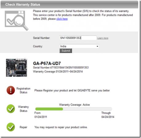 Cómo verificar la garantía de tus productos GIGABYTE 33