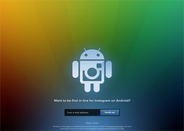 Instagram para Android, cada vez más cerca