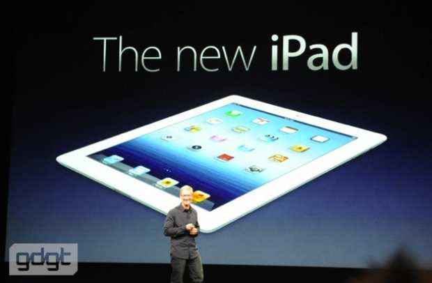 Presentado iPad 3: precio, detalles y características