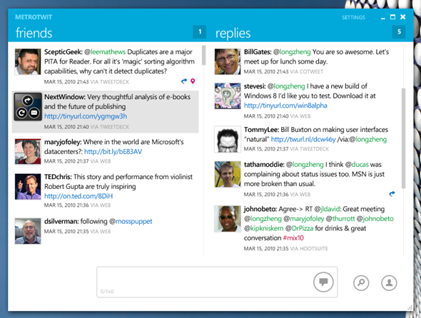 MetroTwit 1.0, maridaje perfecto entre Twitter y la interfaz Metro 30