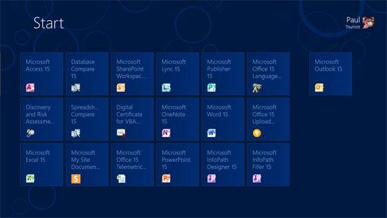 Primeras capturas de pantalla de Office 15, interfaz Metro a la vista