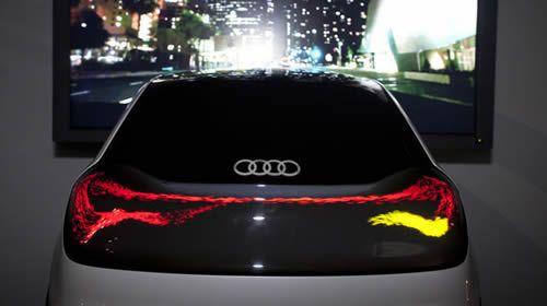 luces de coches:
