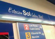 La céntrica estación de Metro de Madrid Sol pasa a ser Sol Galaxy Note por un mes 34