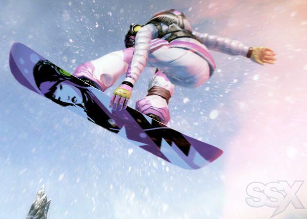 SSX, snowboard extremo en tu Xbox y PlayStation 3