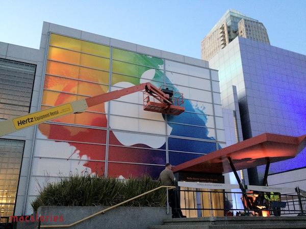 Apple prepara Yerba Buena Center para el lanzamiento del próximo iPad