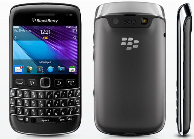 BlackBerry Bold 9790 en España con Movistar