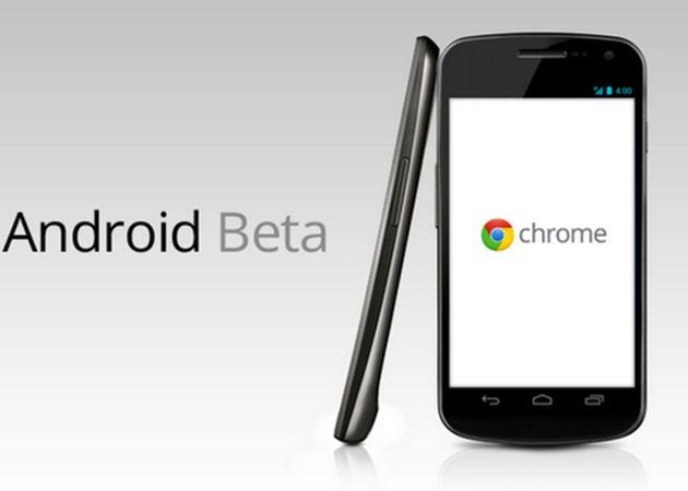 Google actualiza Chrome para Android Beta 37