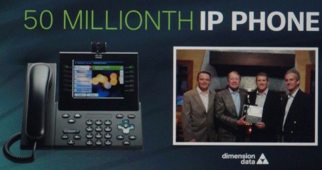 Cisco voip 50 millones