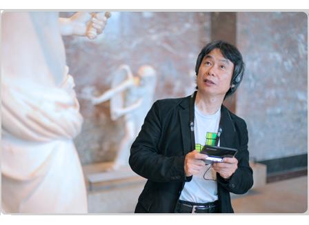 Nintendo 3DS ya guía a los visitantes por el Louvre 30