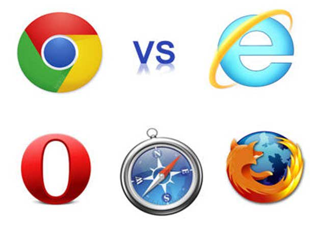 Benchmark navegadores web, Chrome 18 frente al resto