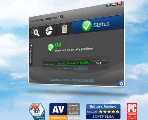 Panda Cloud Antivirus galardonado por AV-Comparatives 29