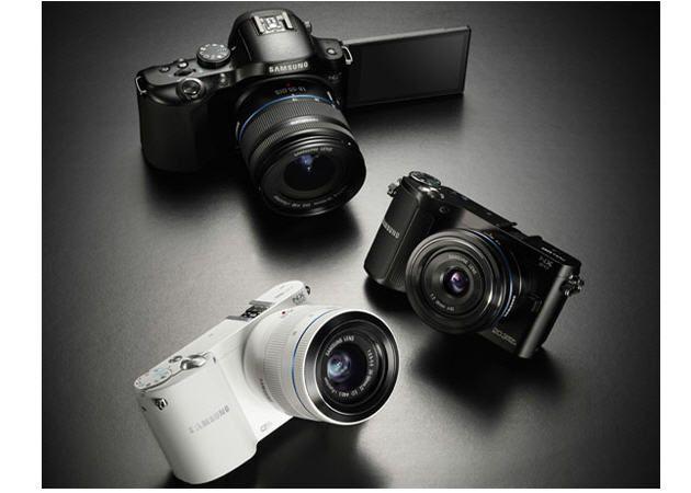 Samsung actualiza su gama de cámaras NX con un modelo WiFi