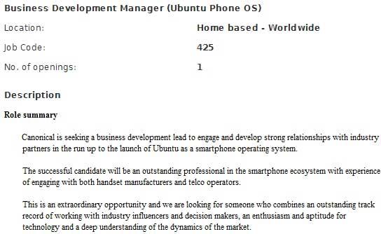 Canonical prepara el terreno para la llegada de Ubuntu a smartphones