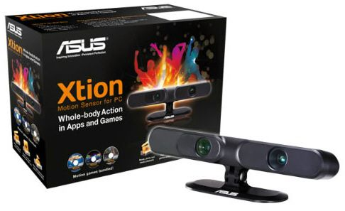 ASUS Xtion: la alternativa a Kinect para Windows llega al mercado