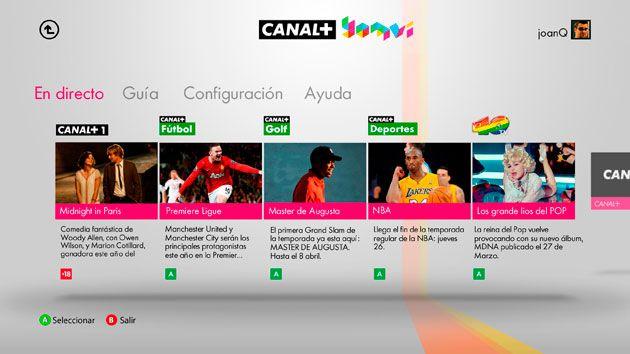 Canal+ Yomvi ya disponible en Xbox 360 30