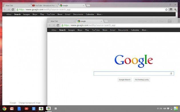 Google Chrome OS mejora en su nueva edición 30