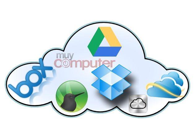 Comparativa de almacenamiento en la nube