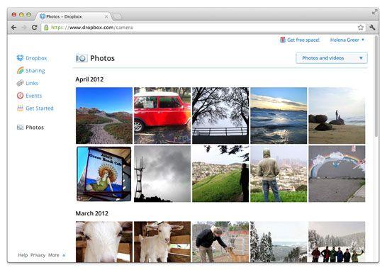 Dropbox potencia la subida de fotos desde el PC y el Mac 30